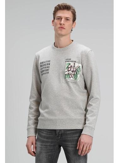 Lufian Brown Sweatshirt   Gri